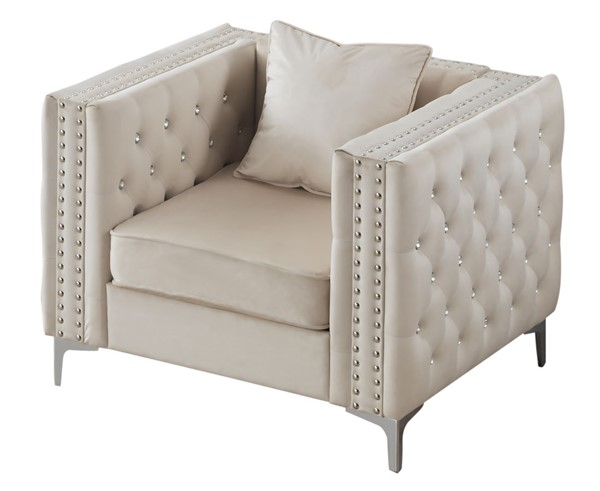 Glory Furniture Paige Ivory Chair GLRY-G827A-C