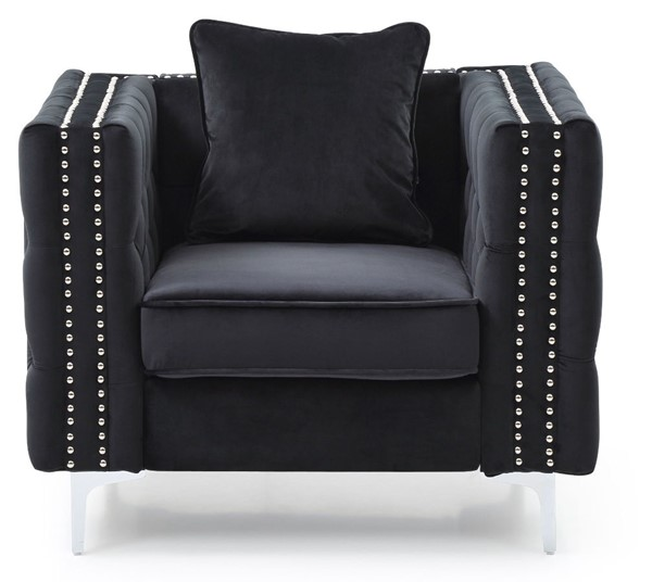 Glory Furniture Paige Contemporary Black Chair GLRY-G828A-C