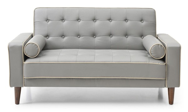 Glory Furniture Andrews Light Gray Loveseat Bed GLRY-G832A-L
