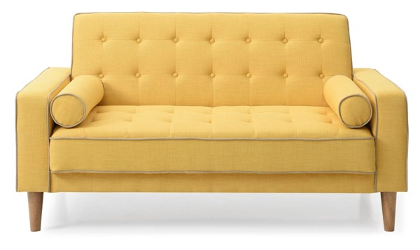 Glory Furniture Andrews Contemporary Yellow Loveseat Bed GLRY-G834A-L