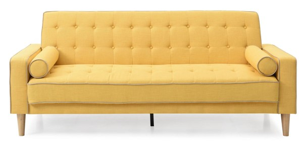 Glory Furniture Andrews Yellow Sofa Bed GLRY-G834A-S