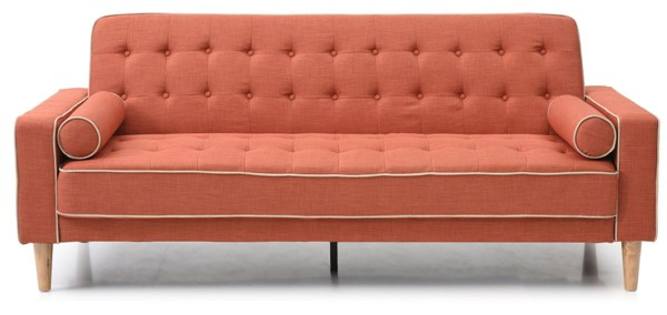 Glory Furniture Andrews Orange Sofa Bed GLRY-G835A-S