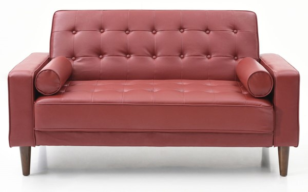 Glory Furniture Andrews Contemporary Red Loveseat Bed GLRY-G849A-L