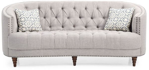 Glory Furniture Charleston Traditional Light Gray Sofa GLRY-G850-S
