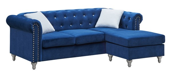 Glory Furniture Raisa Blue Sectional GLRY-G861B-SCH