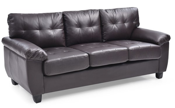 Glory Furniture Gallant Cappuccino Faux Leather Sofa GLRY-G905A-S
