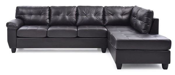 Glory Furniture Gallant Cappuccino Faux Leather Sectional GLRY-G905B-SC
