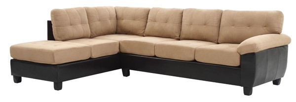 Glory Furniture Gallant Contemporary Mocha Sectional GLRY-G908B-SC