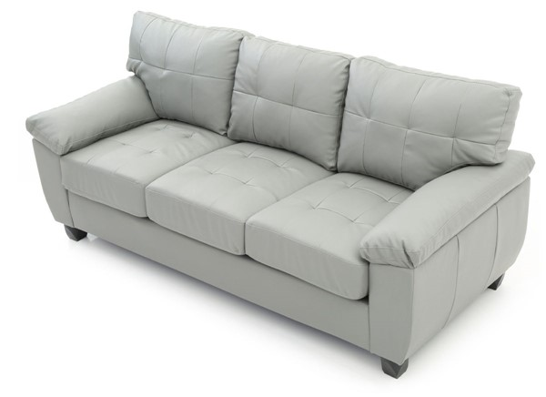 Glory Furniture Gallant Gray Faux Leather Sofa GLRY-G912A-S