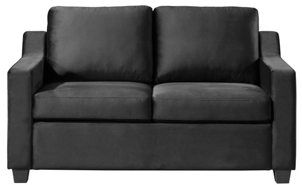 Glory Furniture Ashley Contemporary Black Loveseat GLRY-G974A-L