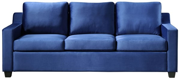 Glory Furniture Ashley Contemporary Navy Blue Sofa GLRY-G976A-S