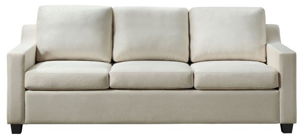 Glory Furniture Ashley Contemporary Ivory Sofa GLRY-G977A-S