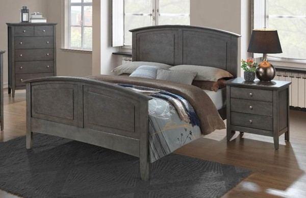 Glory Furniture Hammond Gray 2pc Bedroom Set with Queen Bed GLRY-G5405A-BR-S3