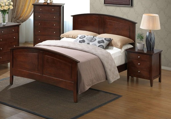 Glory Furniture Hammond Cappuccino 2pc Bedroom Set with King Bed GLRY-G5425A-BR-S2