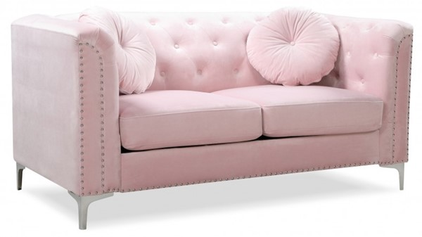 Glory Furniture Pompano Contemporary Pink Loveseat GLRY-G894A-L