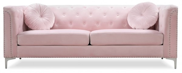 Glory Furniture Pompano Contemporary Pink Sofa GLRY-G894A-S