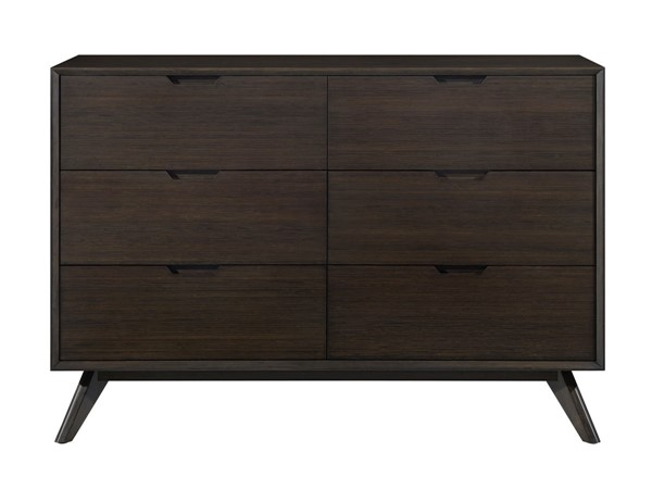 Greenington Eco Ridge Havana Bamboo Six Drawer Double Dresser GRN-ECO013HA