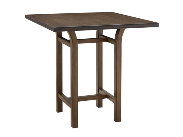 Greenington Tulip Classic Black Walnut Bamboo 36 Inch Counter Height Table GRN-G0019BL