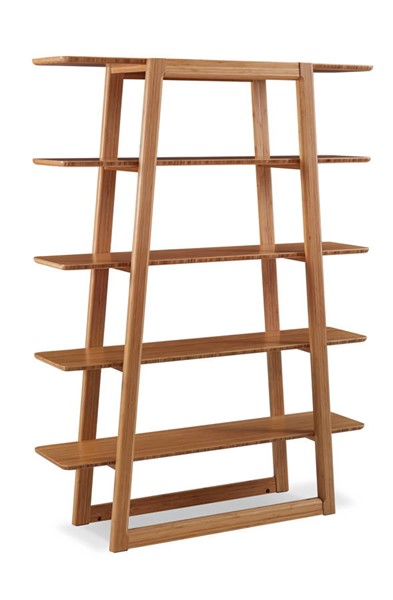 Greenington Currant Modern Caramelized Bamboo Bookshelf GRN-G0048CA