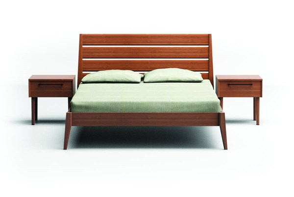 Greenington Sienna Caramelized Bamboo 2pc Bedroom Set With King Bed GRN-G009-BR-S3