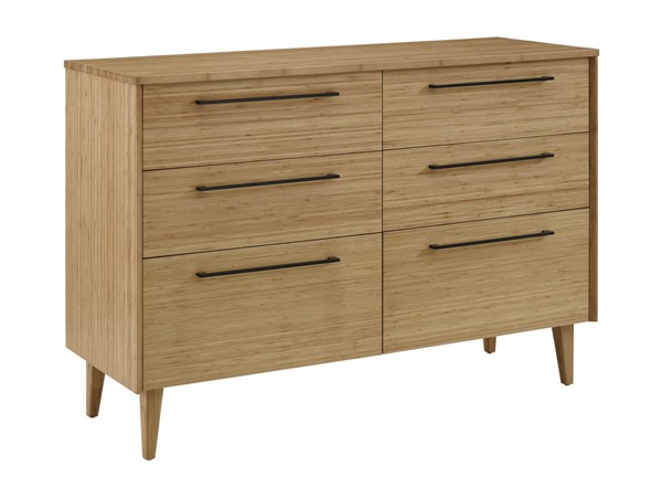 Greenington Sienna Caramelized Bamboo Six Drawers Dresser GRN-G0094CA