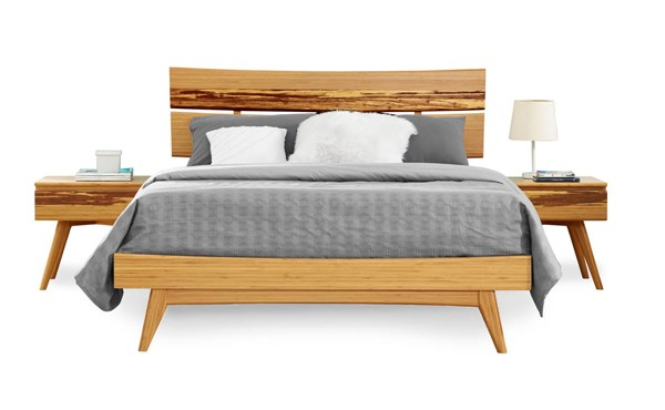 Greenington Azara Caramelized Bamboo 2pc Bedroom Set With Cal King Bed GRN-GA000-BR-S6