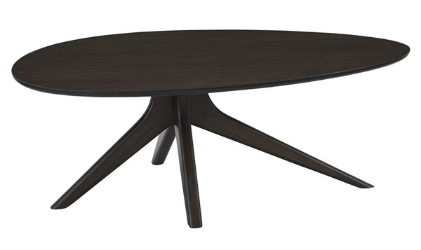 Greenington Rosemary Modern Black Walnut Bamboo Coffee Table GRN-GCT001BL