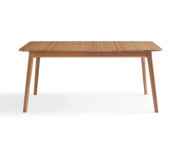 Greenington Laurel Modern Caramelized Bamboo Extention Dining Table GRN-GL0001CA
