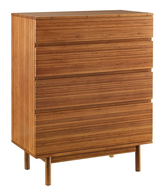 Greenington Ventura Amber 4 Drawer High Chest GRN-GVA0005AM