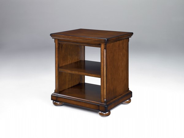 Porter Traditional Brown Wood Home Office Corner Table H697-47