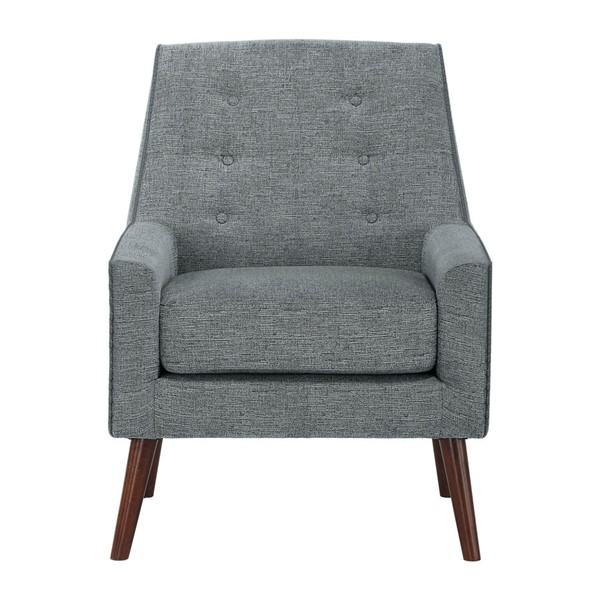 Home Elegance Ride Gray Accent Chair HE-1118GY-1