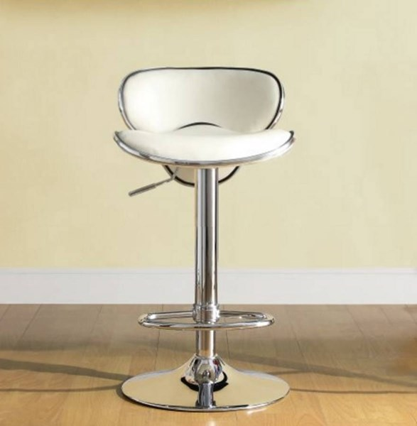 Ride Contemporary Multi Metal Extra Tall Airlift Swivel Stools HE-1156