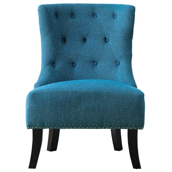 Home Elegance Paighton Blue Accent Chair HE-1167BU-1