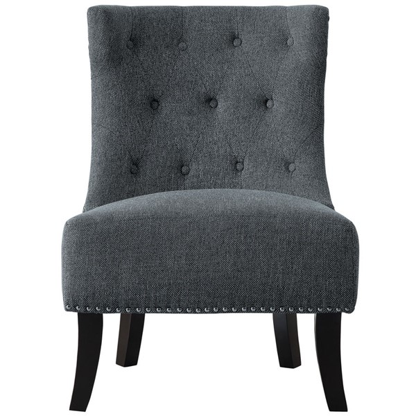 Home Elegance Paighton Gray Accent Chair HE-1167GY-1