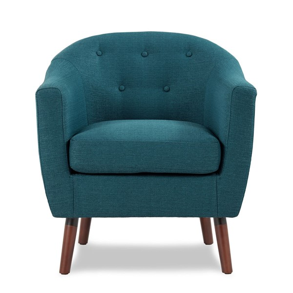 Home Elegance Lucille Blue Accent Chair HE-1192BL