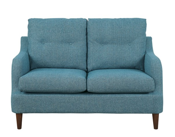 Home Elegance Cagle Blue Loveseat HE-1219BU-2