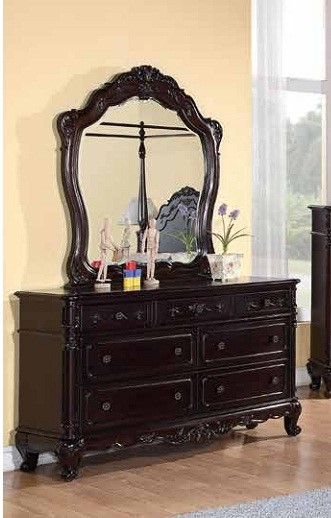 Cinderella Traditional Cherry Wood Seven Drawers Dresser HE-1386NC-5