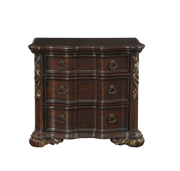 Home Elegance Royal Highlands Rich Cherry Night Stand HE-1603-4