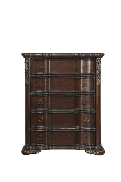 Home Elegance Royal Highlands Rich Cherry Chest HE-1603-9