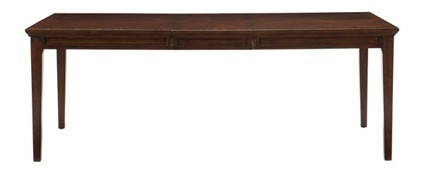 Home Elegance Frazier Park Dark Cherry Dining Table HE-1649-82