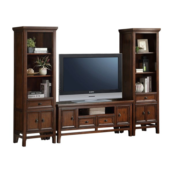 Home Elegance Frazier Park Entertainment Center with 59 Inch TV Stand HE-16490-59-ENT-S1