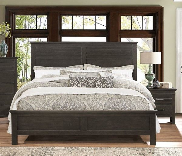 Home Elegance Blaire Farm Saddle Brown 2pc Bedroom Set with Queen Bed HE-1675-BR-S2