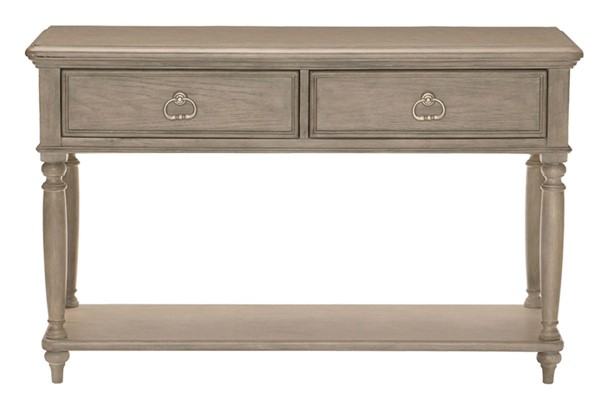 Home Elegance Grayling Downs Driftwood Gray Sofa Table HE-1688-05