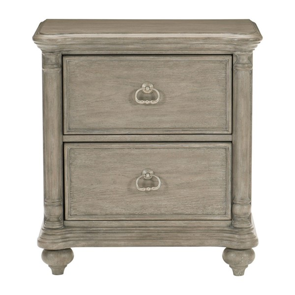 Home Elegance Grayling Downs Gray Night Stand HE-1688-4