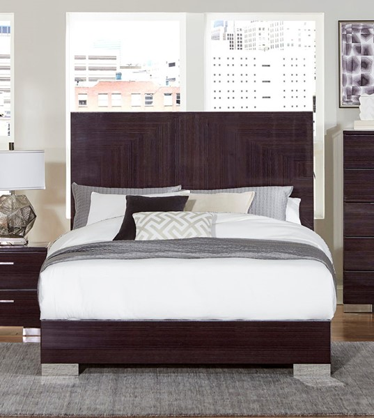 Home Elegance Moritz Dark Smoky Beds HE-1706-BEDS