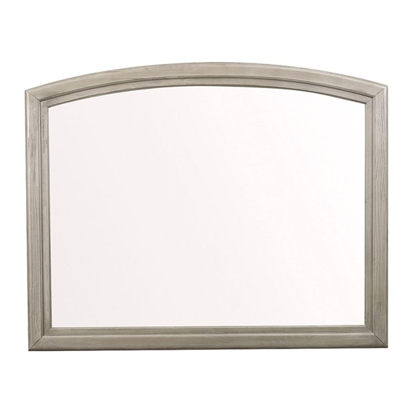 Home Elegance Lavonia Gray Wire Brushed Mirror HE-1707-6