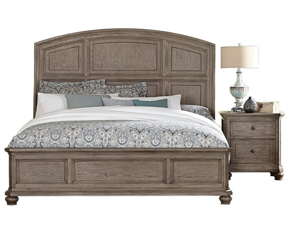 Home Elegance Lavonia 2pc Bedroom Set with King Bed HE-1707-BR-S2