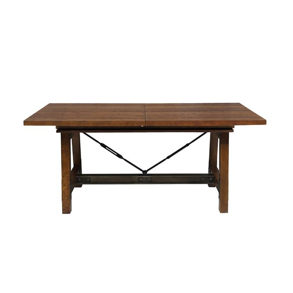 Home Elegance Holverson Rustic Brown Dining Table HE-1715-94