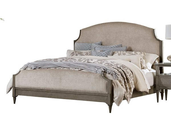 Home Elegance Albright Gray Oak Neutral Queen Bed HE-1717-1