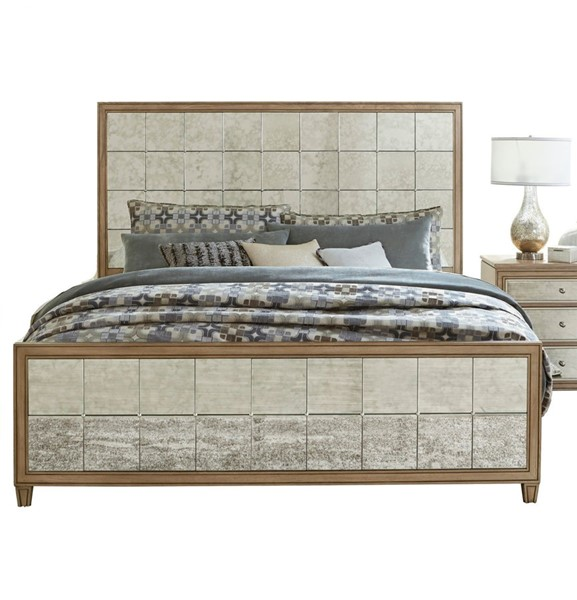 Home Elegance Kalette Light Oak Queen Bed HE-1721-1